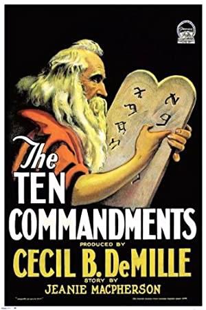 The Ten Commandments (1923)