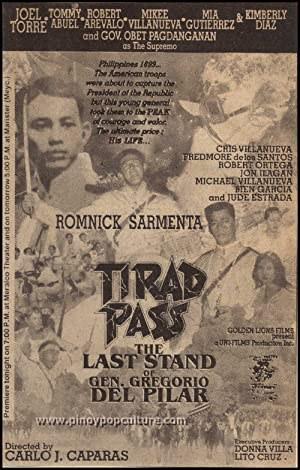 Tirad Pass: The Story of Gen. Gregorio del Pilar (1996)