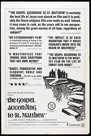 The Gospel According to St. Matthew (1964)