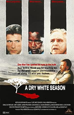 Dry, White Season (1989)