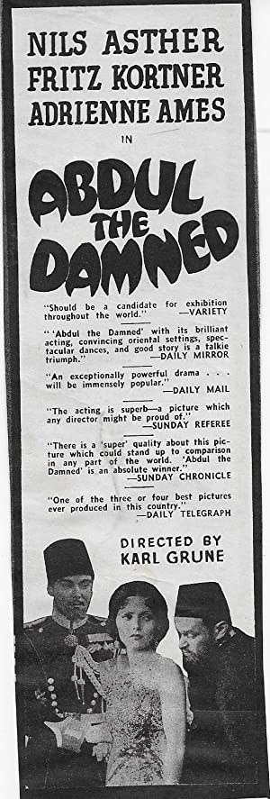 Abdul the Damned (1935)
